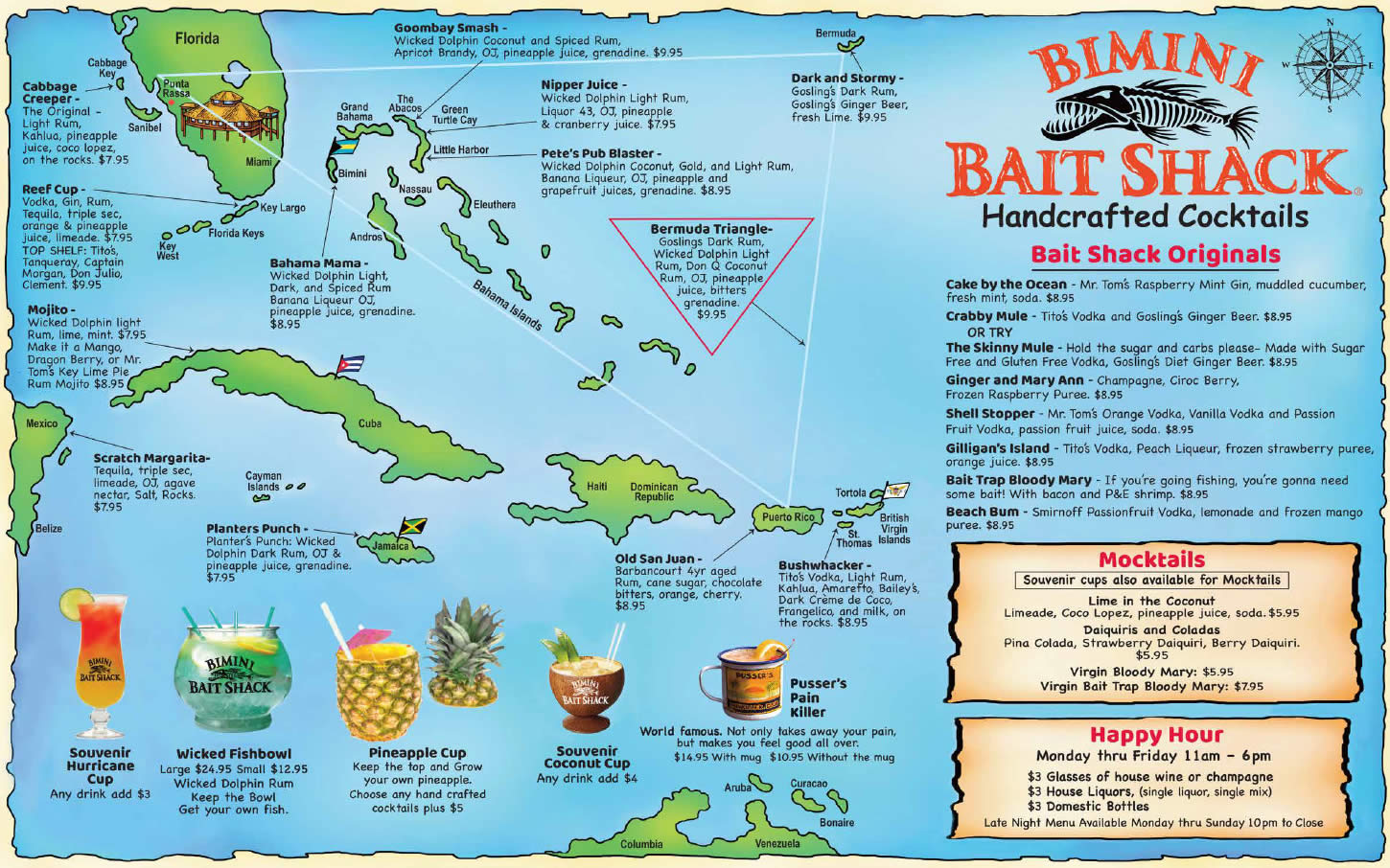 2019 drinks map