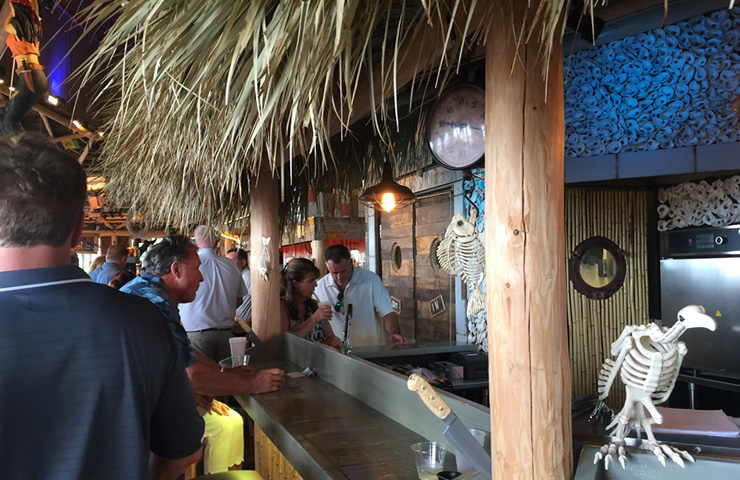 Oyster-shucking-station